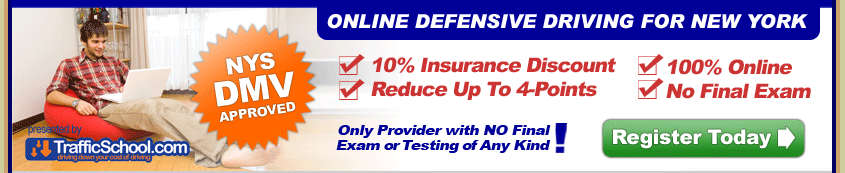 Web Online Point Reduction Defensive Driving